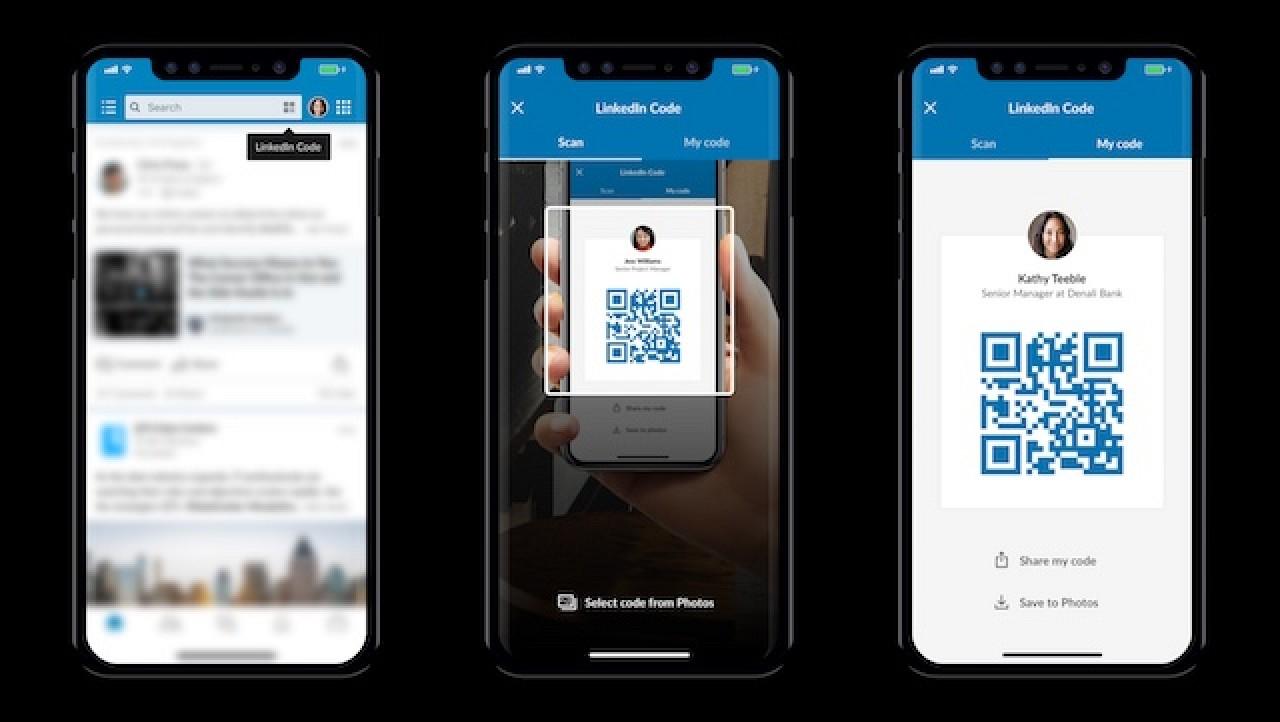 LinkedIn Mobile App Gains QR Code Scanner and Translation