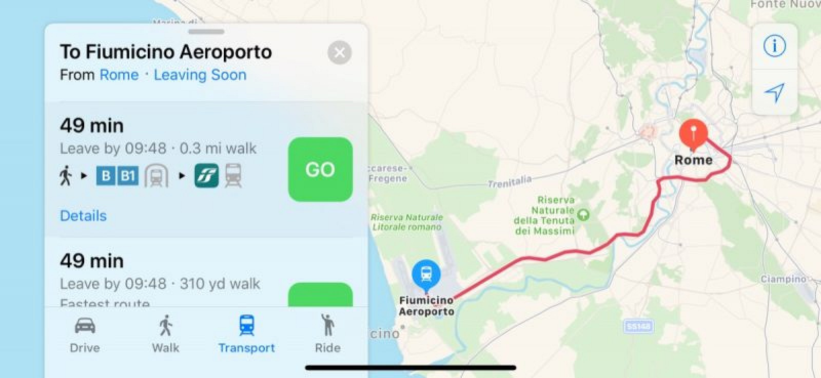 Apple Maps Now Supports Transit in Estonia and Rome, Italy