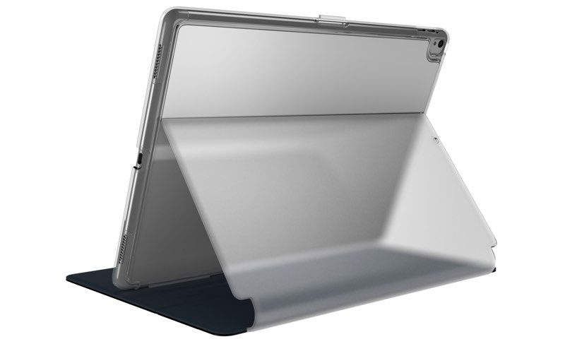 The Balance Folio Clear Includes A Built In Adjustable Stand That Can Be Positioned Several Angles For Typing Watching Videos And More When Closed