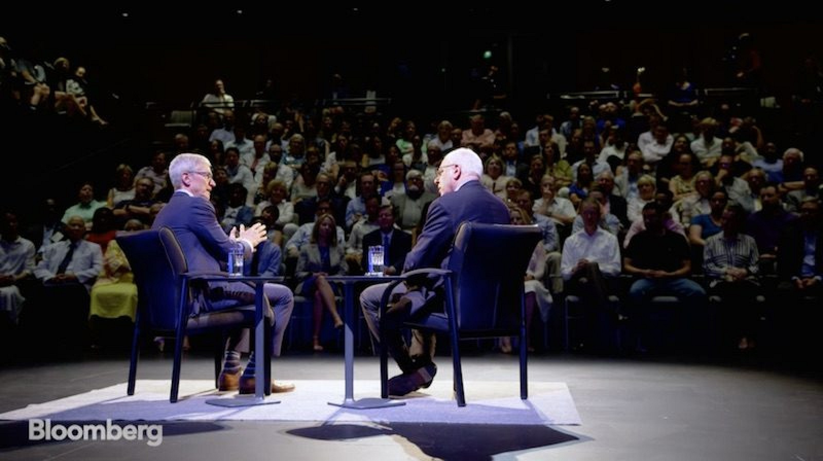 photo image Tim Cook Reflects on Steve Jobs, Apple Watch Saving Lives, and Politics on The David Rubenstein Show