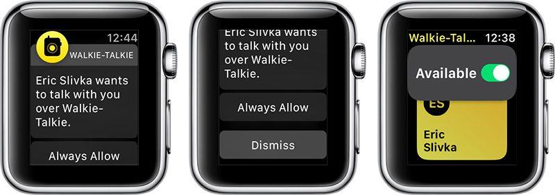 How to Use Walkie-Talkie in watchOS 5 - MacRumors