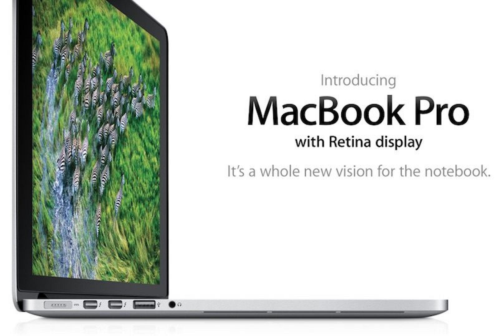 Apple's First MacBook Pro with Retina Display is Now 'Vintage'