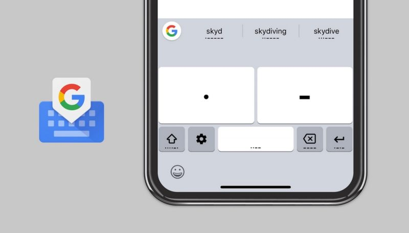 Google Adds Morse Code Accessibility Feature to Gboard on