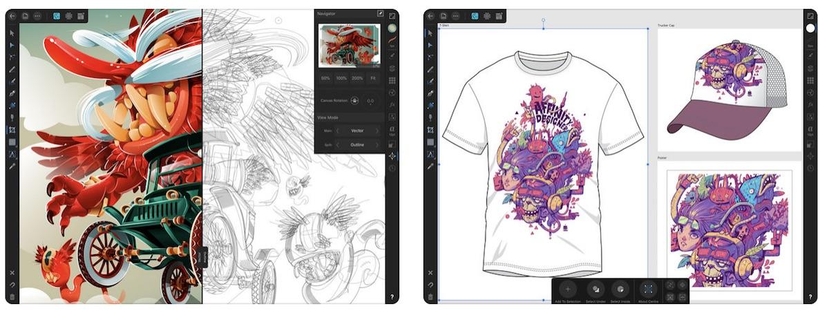 Graphic Design App 'Affinity Designer' Launches for iPad