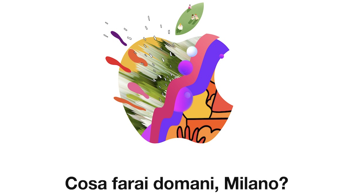 apple piazza liberty in milan will see a grand opening on thursday july 26 and in celebration apple has put together a collection of colorful pieces of
