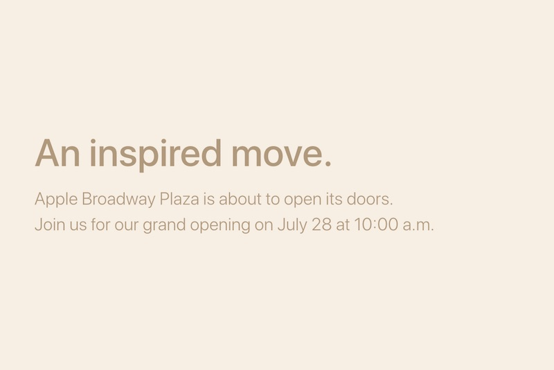 july 28 in walnut creek california opening at 1000 am local time the relocated store is taking the place of a former california pizza kitchen and