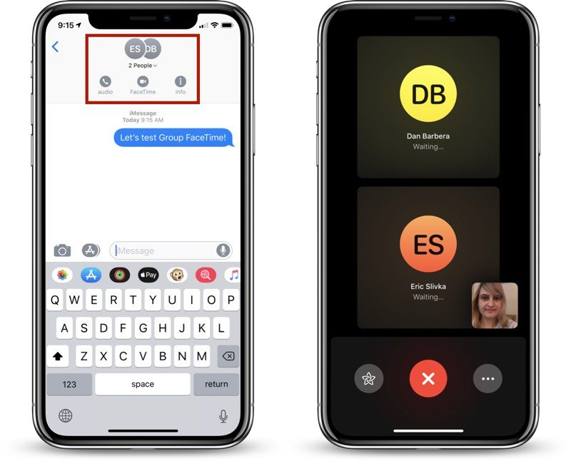 How to Make a Group FaceTime Call - MacRumors