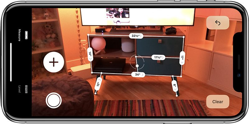 How to Use the New Augmented Reality Measure App in iOS 12 - MacRumors