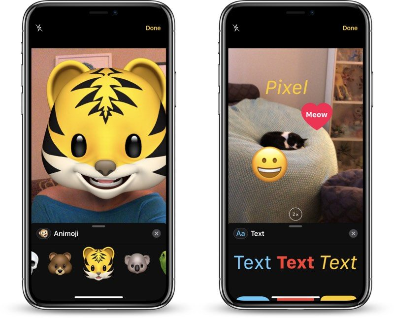 How to Use the Effects Camera in Messages - MacRumors