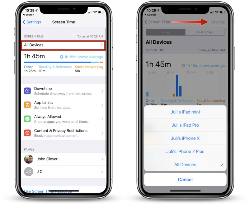 screen timeout iphone how to use screen time in ios 12 macrumors 12926