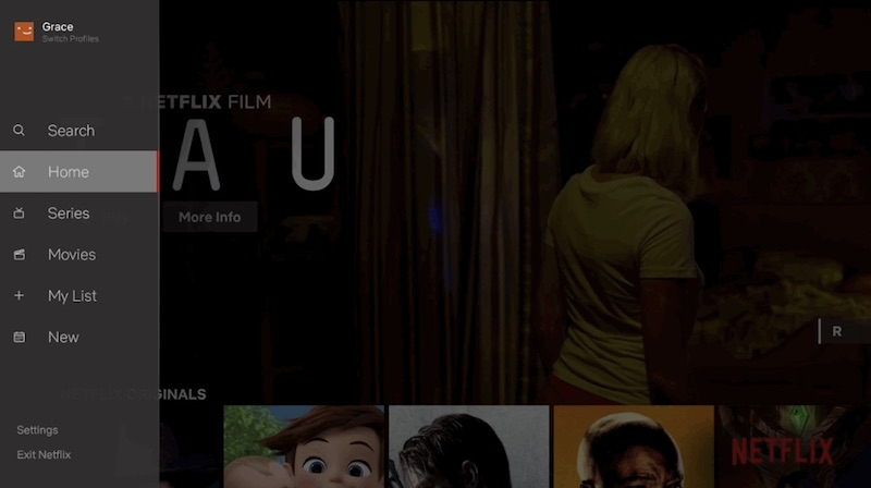 Netflix Redesigns TV Apps With Side Bar Interface Housing My