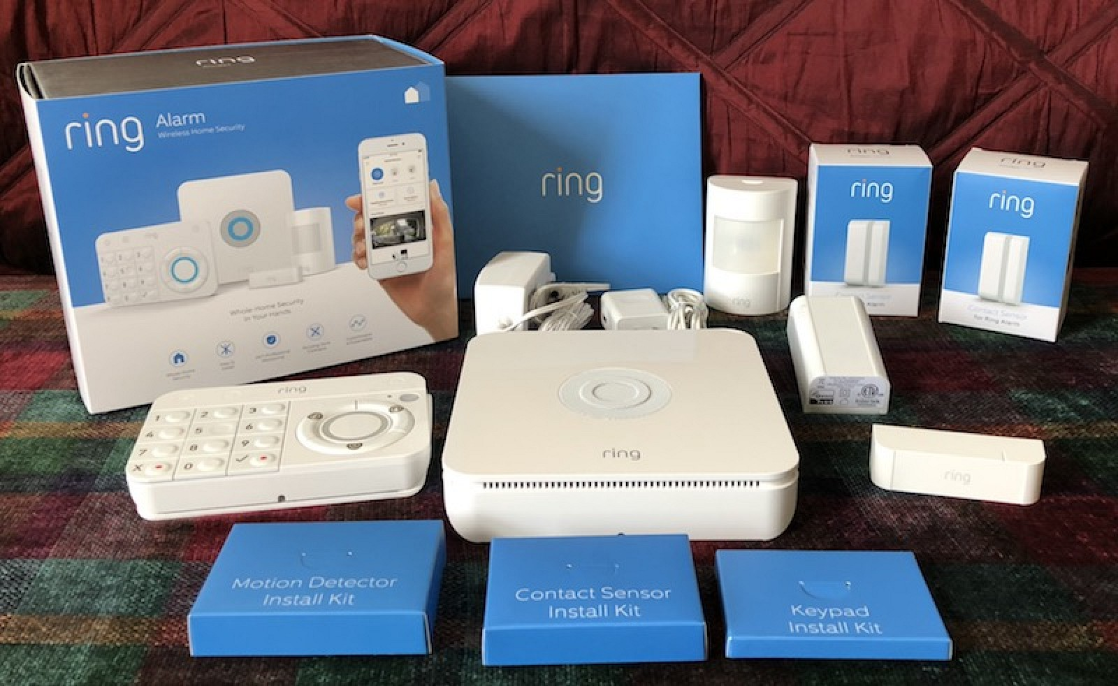 Review Ring Alarm Is A 199 Do It Yourself Home Security System Car Wiring Diagram Pro Track That Keeps Things Simple Macrumors