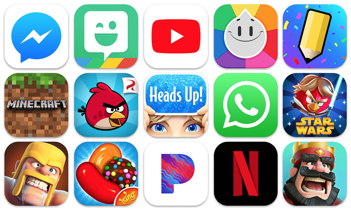 WhatsApp, Messenger, and Minecraft Among Most Popular Apps
