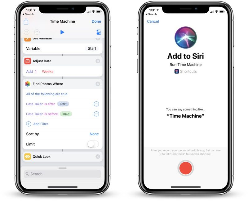 Hands-On With the Siri Shortcuts Beta App in iOS 12 - MacRumors