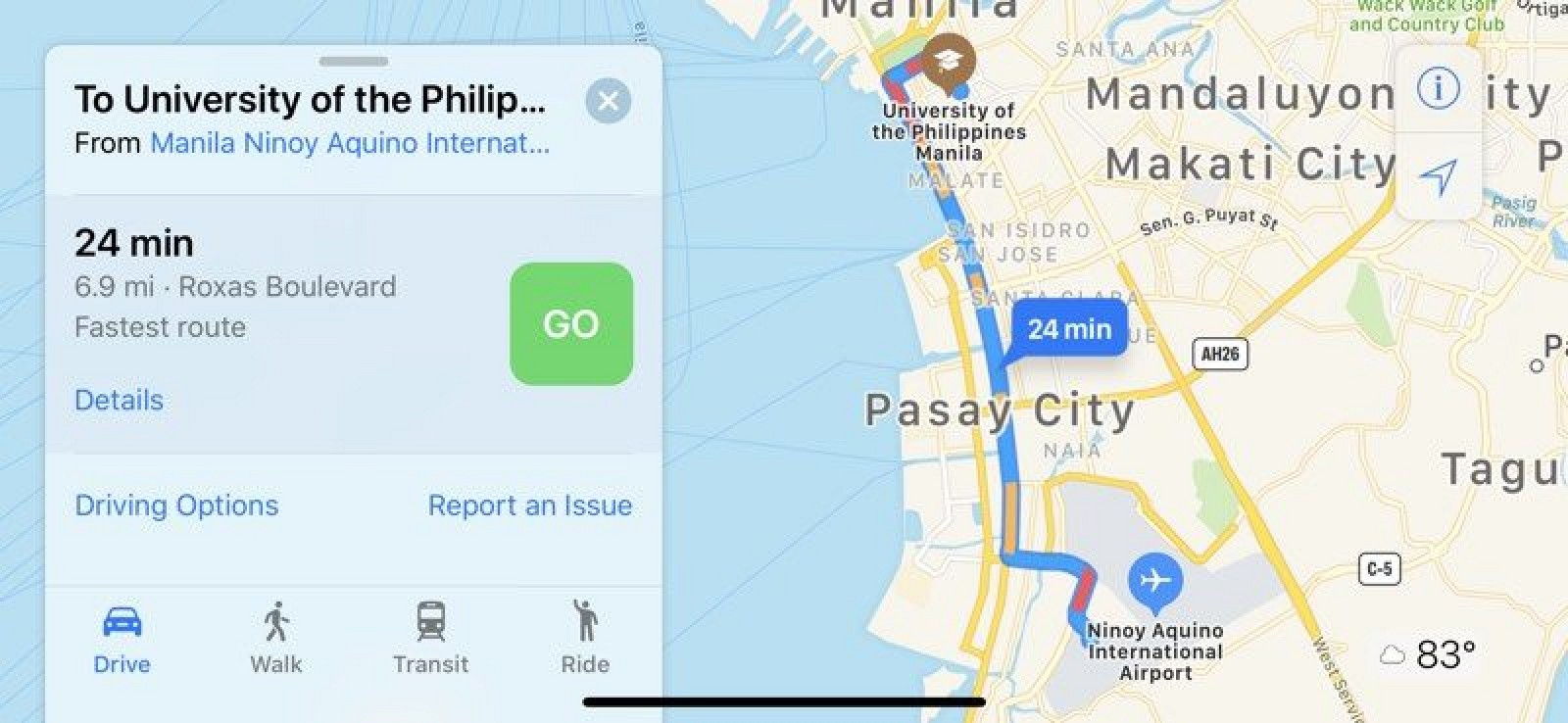 Apple Maps Traffic Info Expands To Six New Countries Macrumors Element Case Sector Iphone 7 Plus Citron