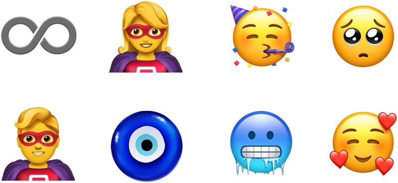 Nuove emoticon iphone 2019