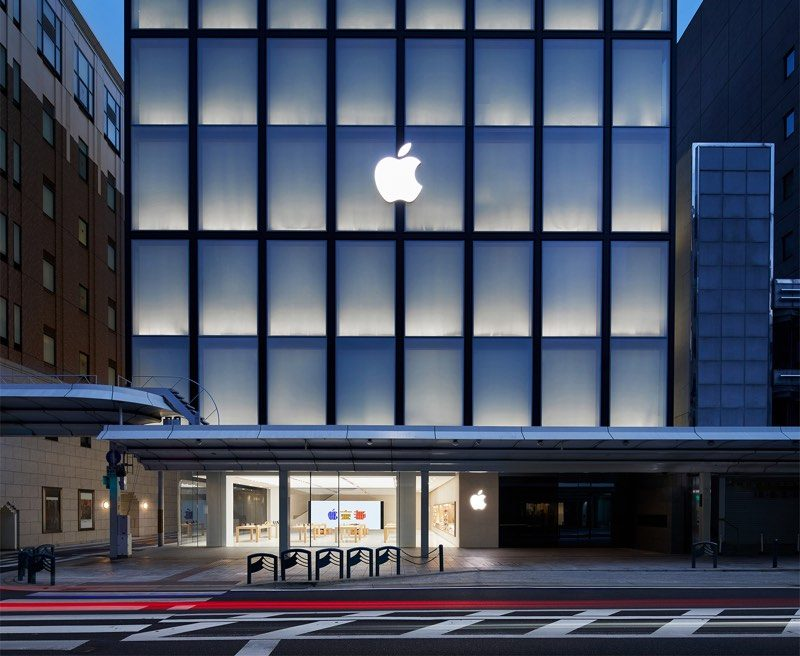 Apple Shares Images Of Upcoming Kyoto Apple Store Which Opens - Architecture-design-in-kyoto-japan