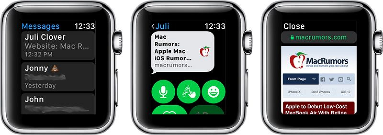 How to Browse the Internet on Apple Watch Through watchOS 5's WebKit Integration