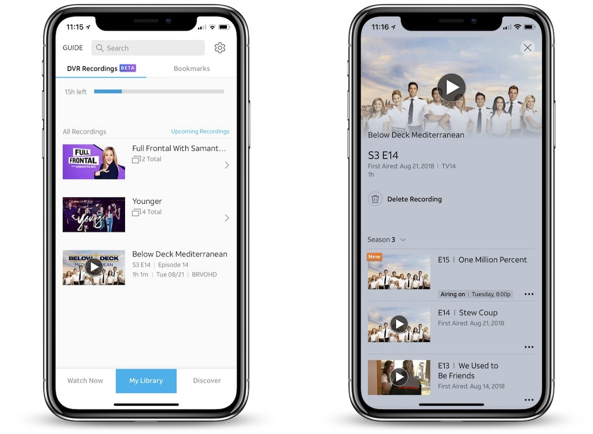 DirecTV Now Ending Public Beta for True Cloud DVR, Will Launch Paid Higher  Storage Tiers Soon - MacRumors