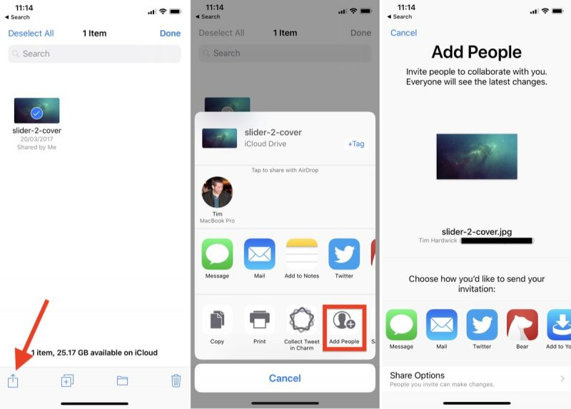 How to Share Files Stored in Your iCloud Drive - MacRumors
