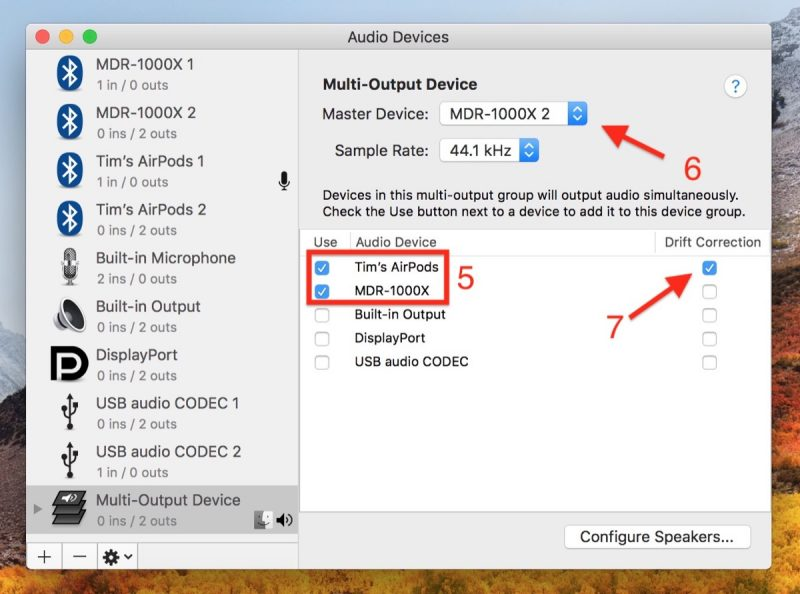 How to Output Your Mac's Audio to Two Pairs of Headphones at
