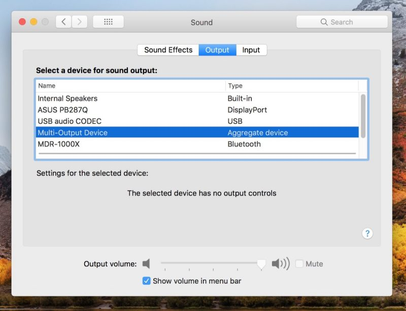 How to Output Your Mac's Audio to Two Pairs of Headphones at the