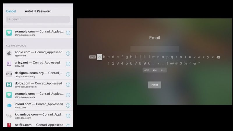 How to Use Password AutoFill on Apple TV and tvOS 12 - MacRumors