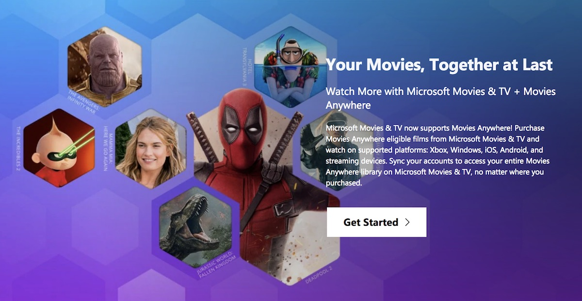 Microsoft Joins Movies Anywhere, Syncing Movies Purchased on