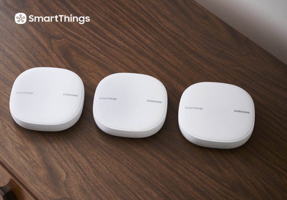 Samsung Introduces 'SmartThings Wi-Fi' Combination Mesh