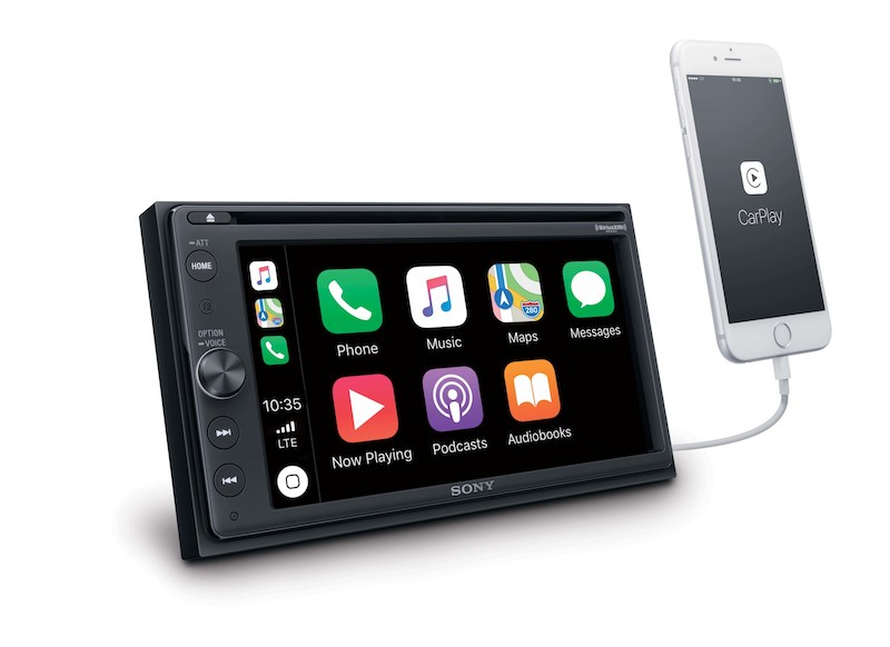 Sony today introduced its new XAV-AX210 receiver, which doubles as an aftermarket CarPlay and Android Auto system.