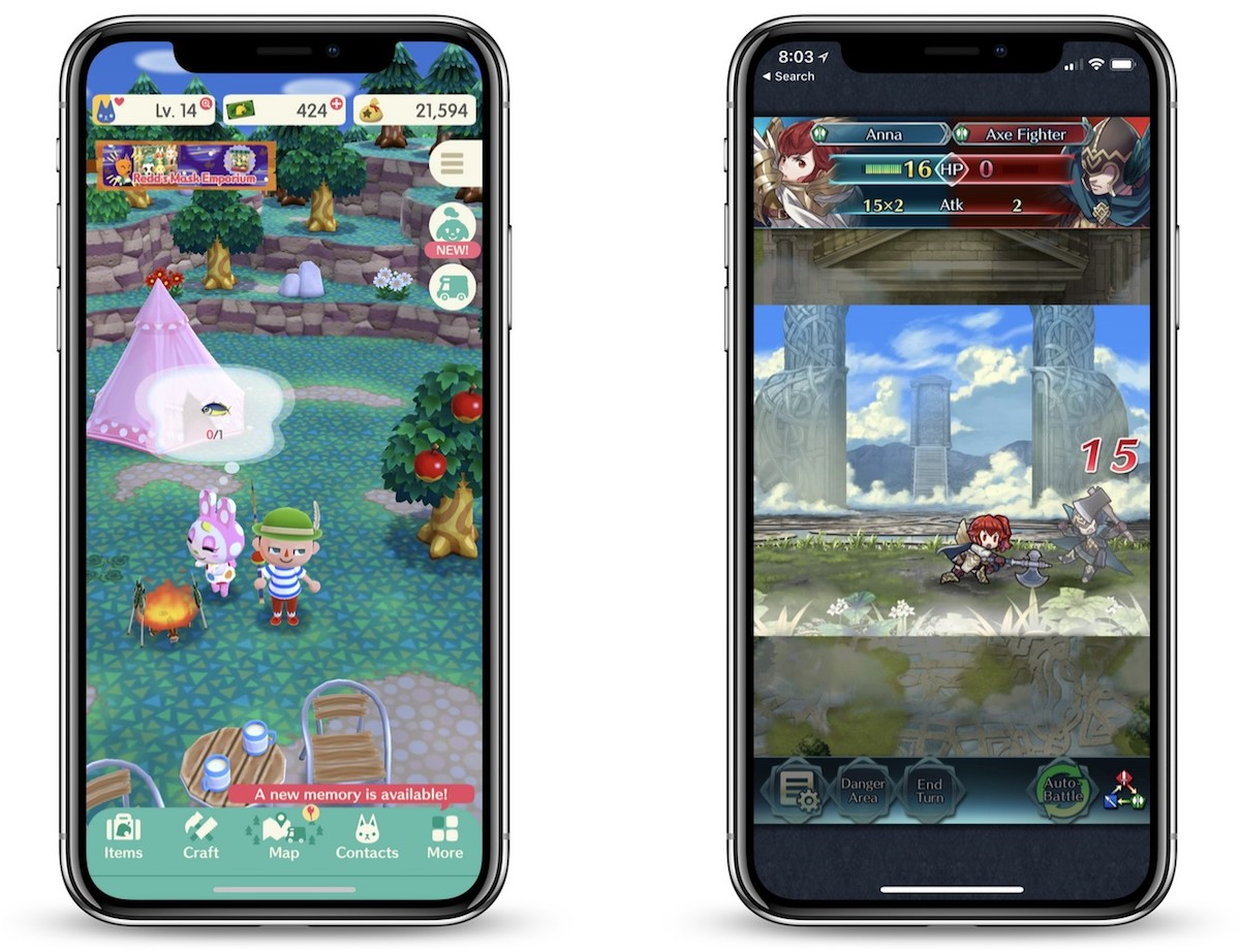 nintendo planning major update for fire emblem heroes and broadening the scope of animal crossing pocket camp