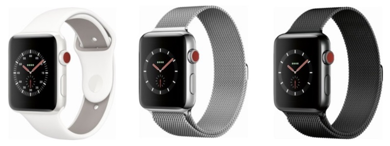 1621eeb69 Deals  Best Buy Flash Sale Offers  300 Off Ceramic and Stainless Steel Apple  Watch Series 3 Cellular Models