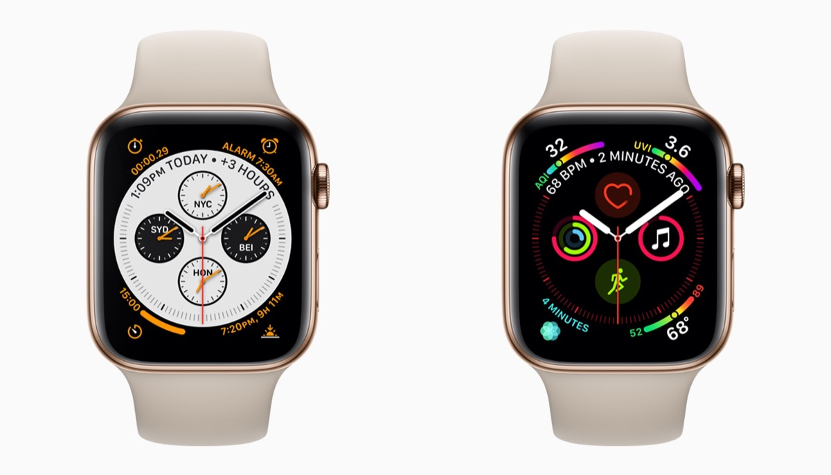 difference between apple watch series 3 and 4