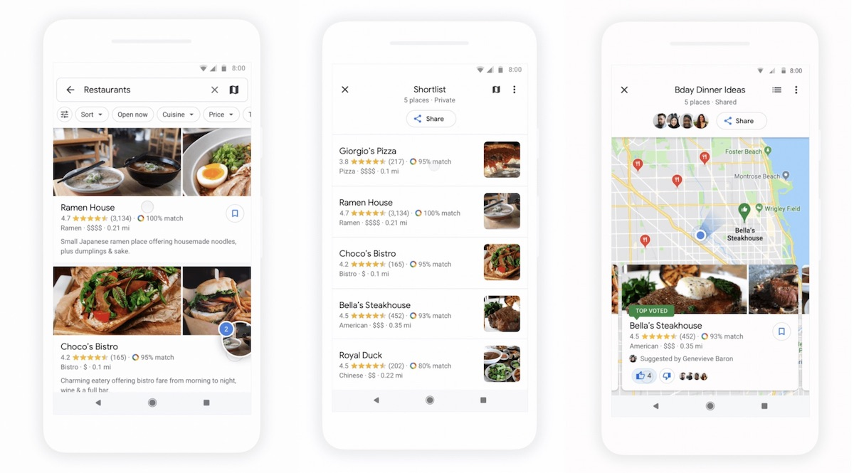 Google Maps Makes it Easier to Decide on a Restaurant With ... on google places map99412poaha pl, bing maps places, directions to and from places, google map university, google earth my-places,
