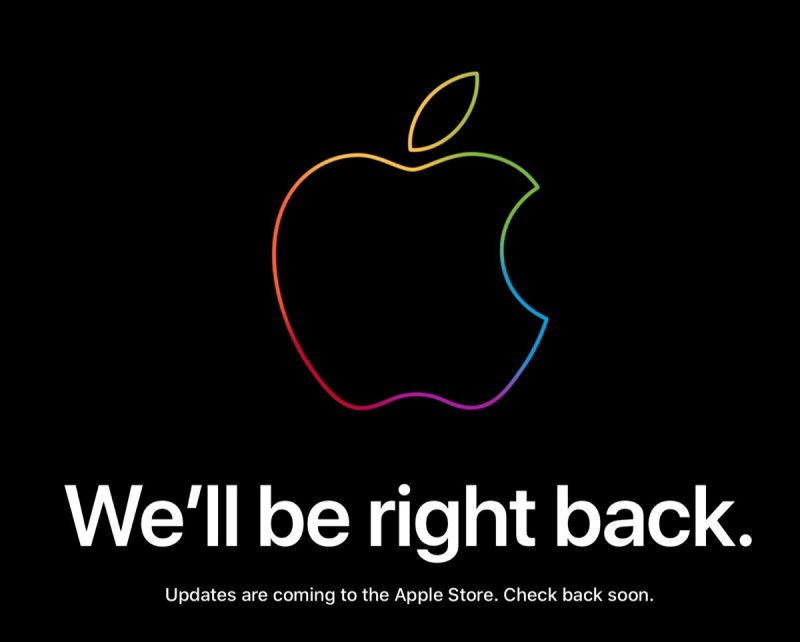 apple store down ahead of today s event in new york city