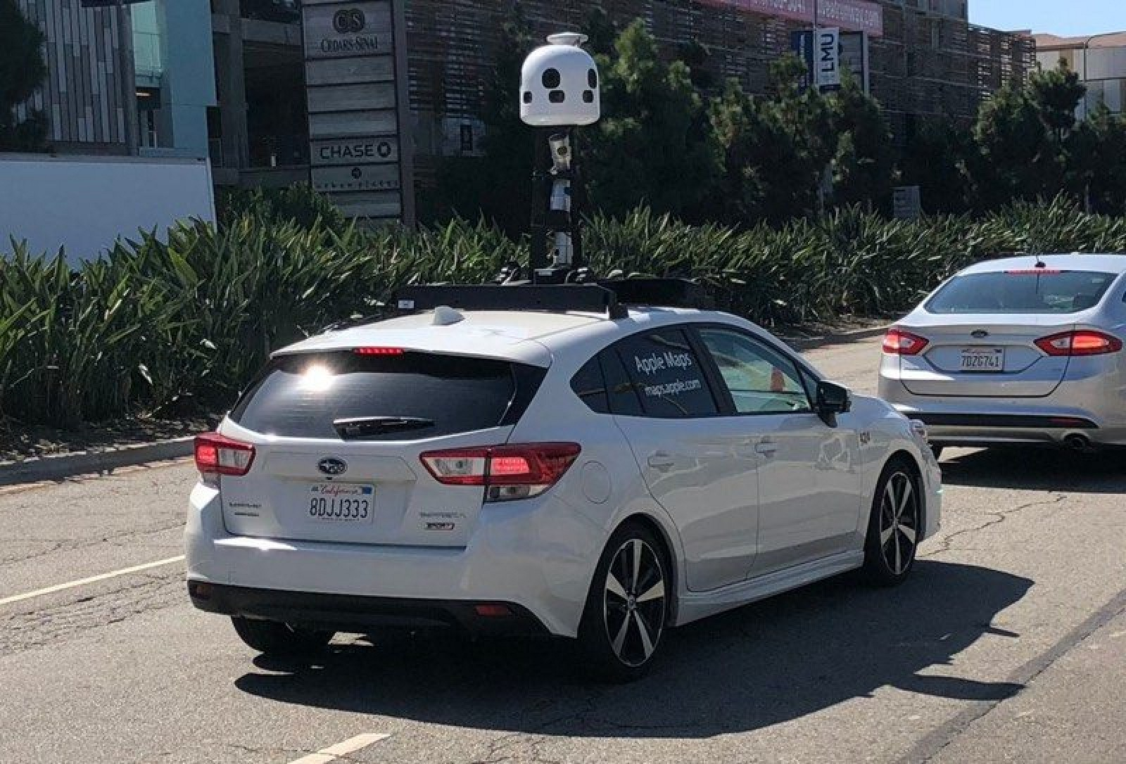 photo image New Apple Maps Cars Spotted in Los Angeles