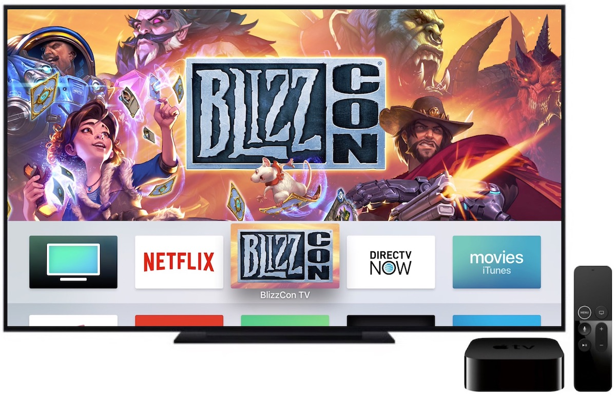 Blizzard Launches New Apple TV App for Streaming Video During