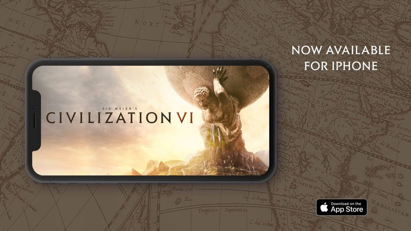 Sid Meier's Civilization VI' Expands to the iPhone - MacRumors