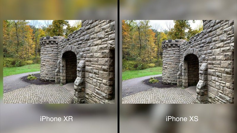 various colors 9b541 5f149 Camera Comparison: iPhone XR vs. iPhone XS Max - MacRumors