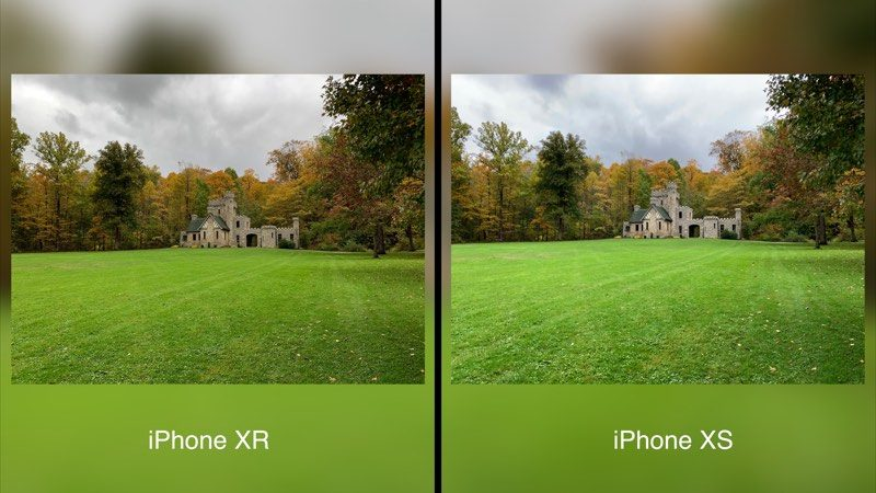 various colors 044e8 4ca49 Camera Comparison: iPhone XR vs. iPhone XS Max - MacRumors