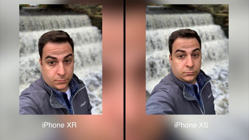 camara iphone 8 plus vs iphone xr