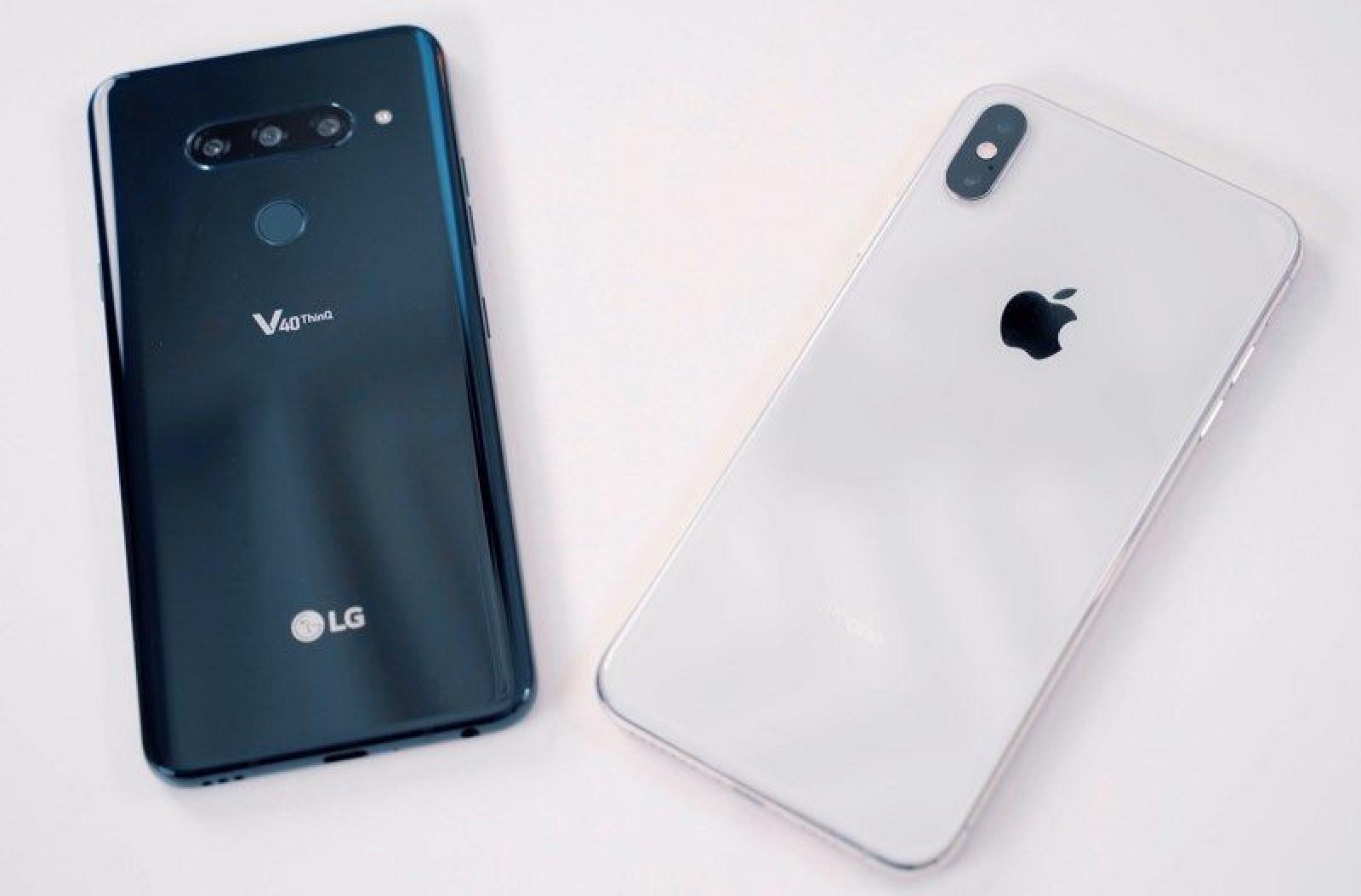 iPhone XS Max vs. LG's Newly Announced V40 ThinQ - MacRumors