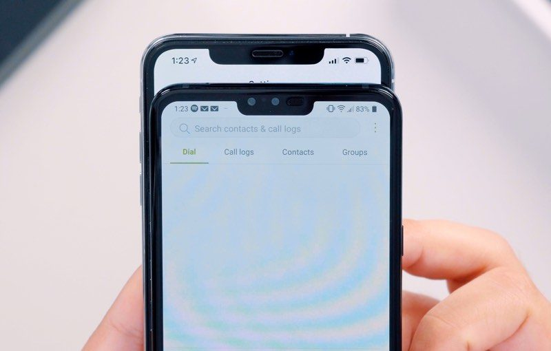 iPhone XS Max vs  LG's Newly Announced V40 ThinQ - MacRumors