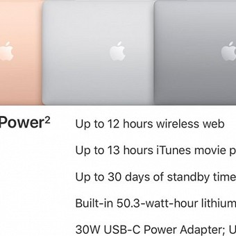 4b8cfc389fb Apple s New MacBook Air Features Impressive Battery Life That Bests MacBook  and MacBook Pro