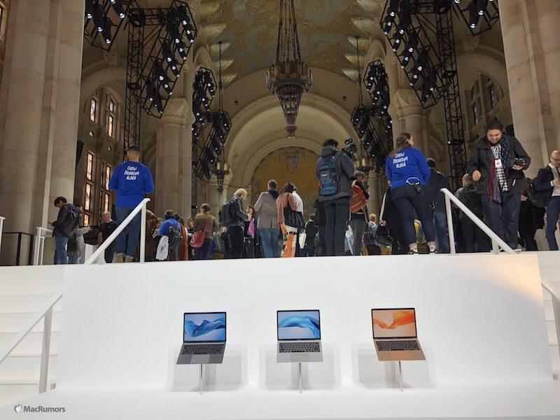 macrumors hands on photos of apple s new ipad pro macbook air and mac mini