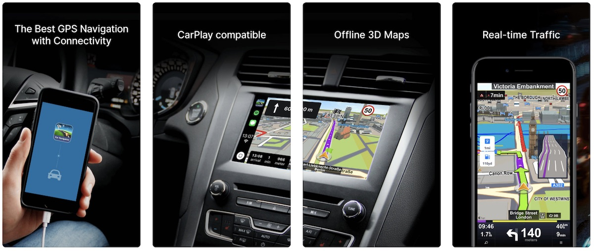 Sygic's 'Car Navigation: GPS & Maps' iOS App Introduces