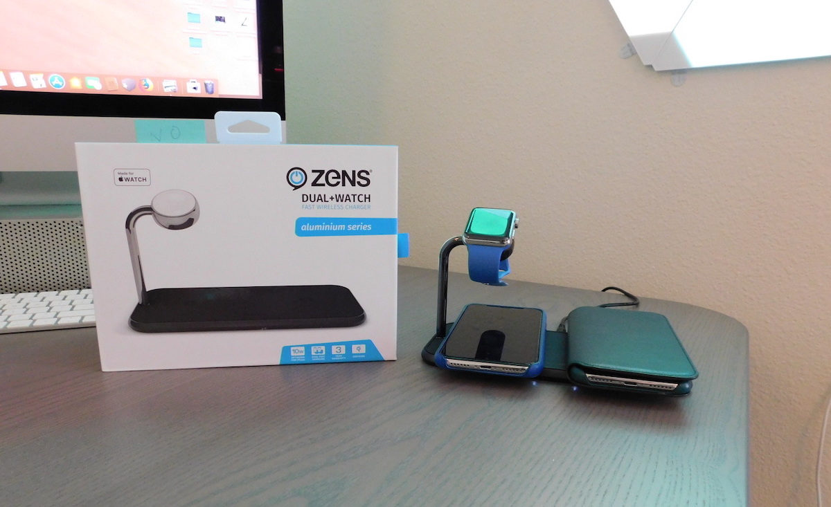 review the zens dual watch wireless charger offers versatile iphone and apple watch charging