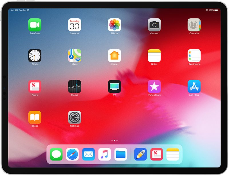ipad pro 2018 help manual