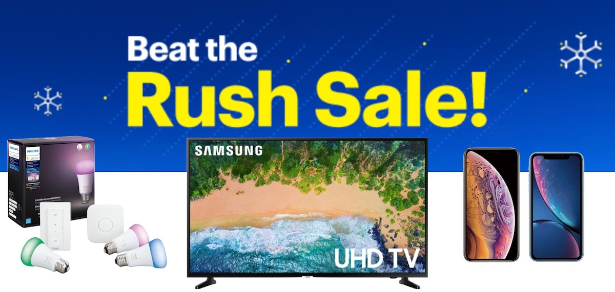 deals best buy s beat the rush sale kicks off black friday savings on iphone philips hue and 4k tvs