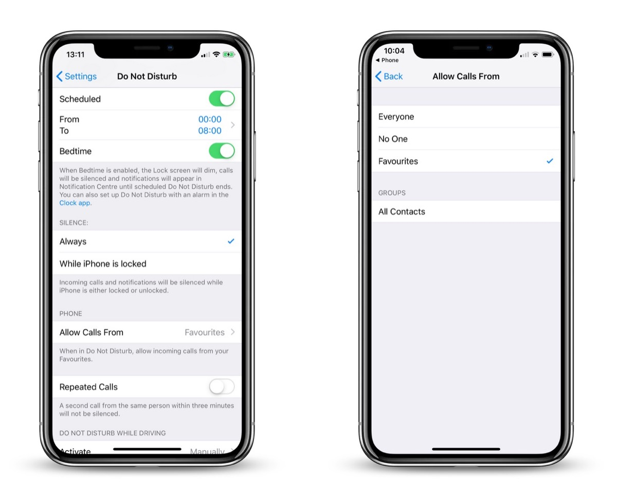 How to Let a Contact Bypass iOS 12's Do Not Disturb Mode
